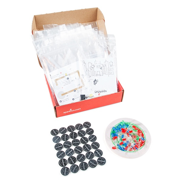 SparkFun Paper Circuit Classroom Pack