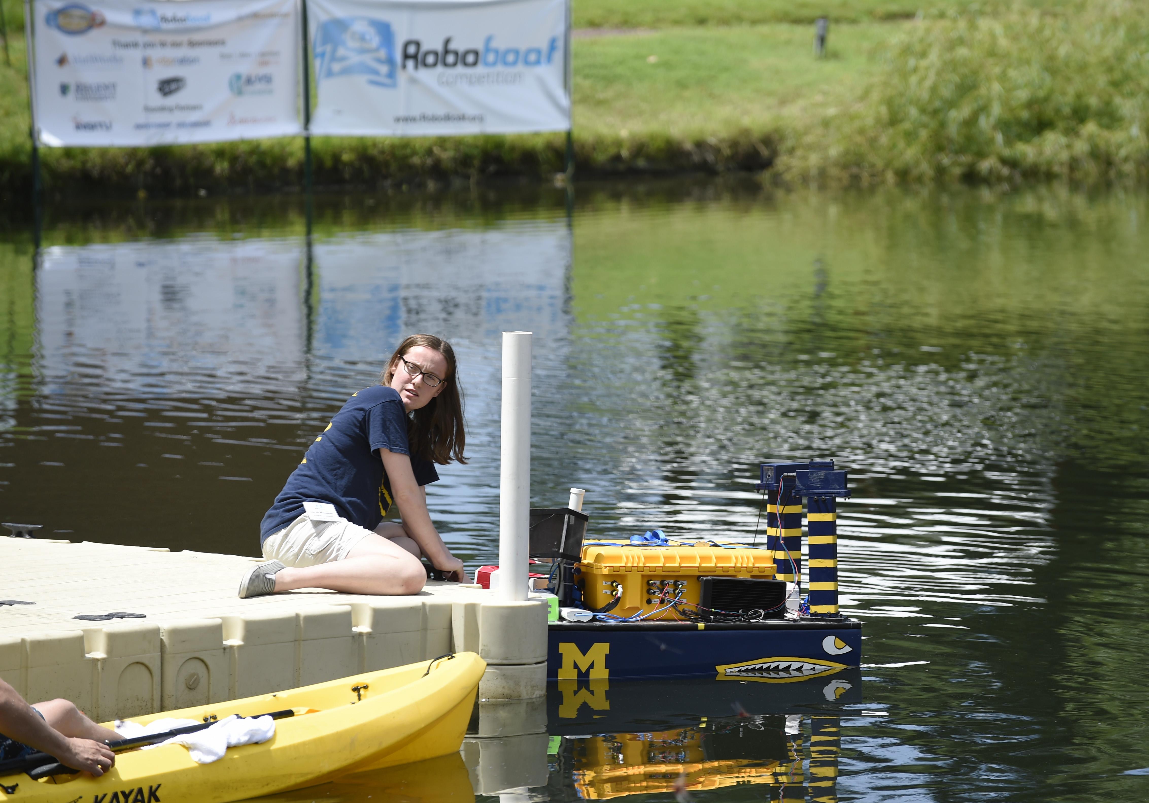 Embry-Riddle Aeronautical University, SeaPerch, RoboBoat Team Lead