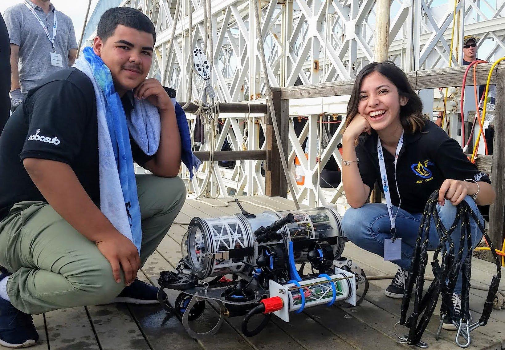 Carl Hayden High School, RoboSub Team