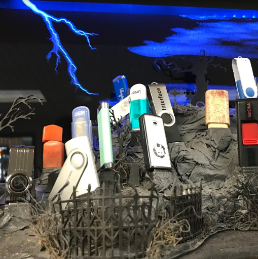 USB graveyard