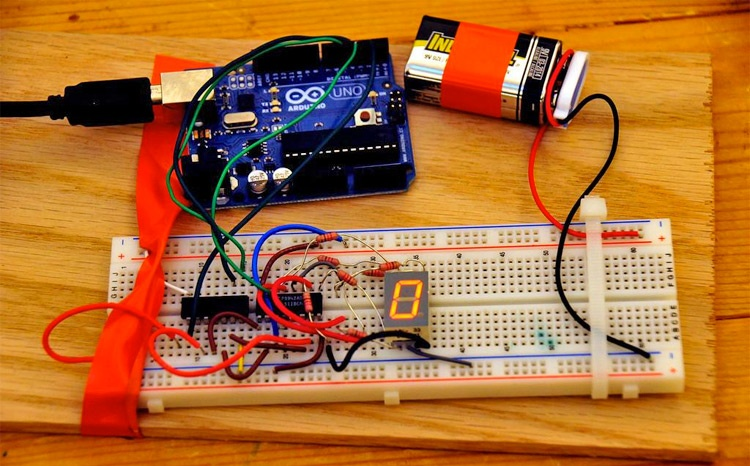 Student project using Arduino