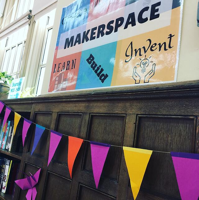 makerspace sign
