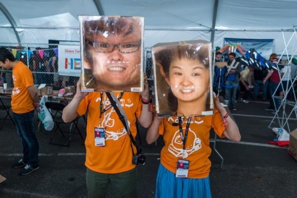 having fun at Bay Area Maker Faire