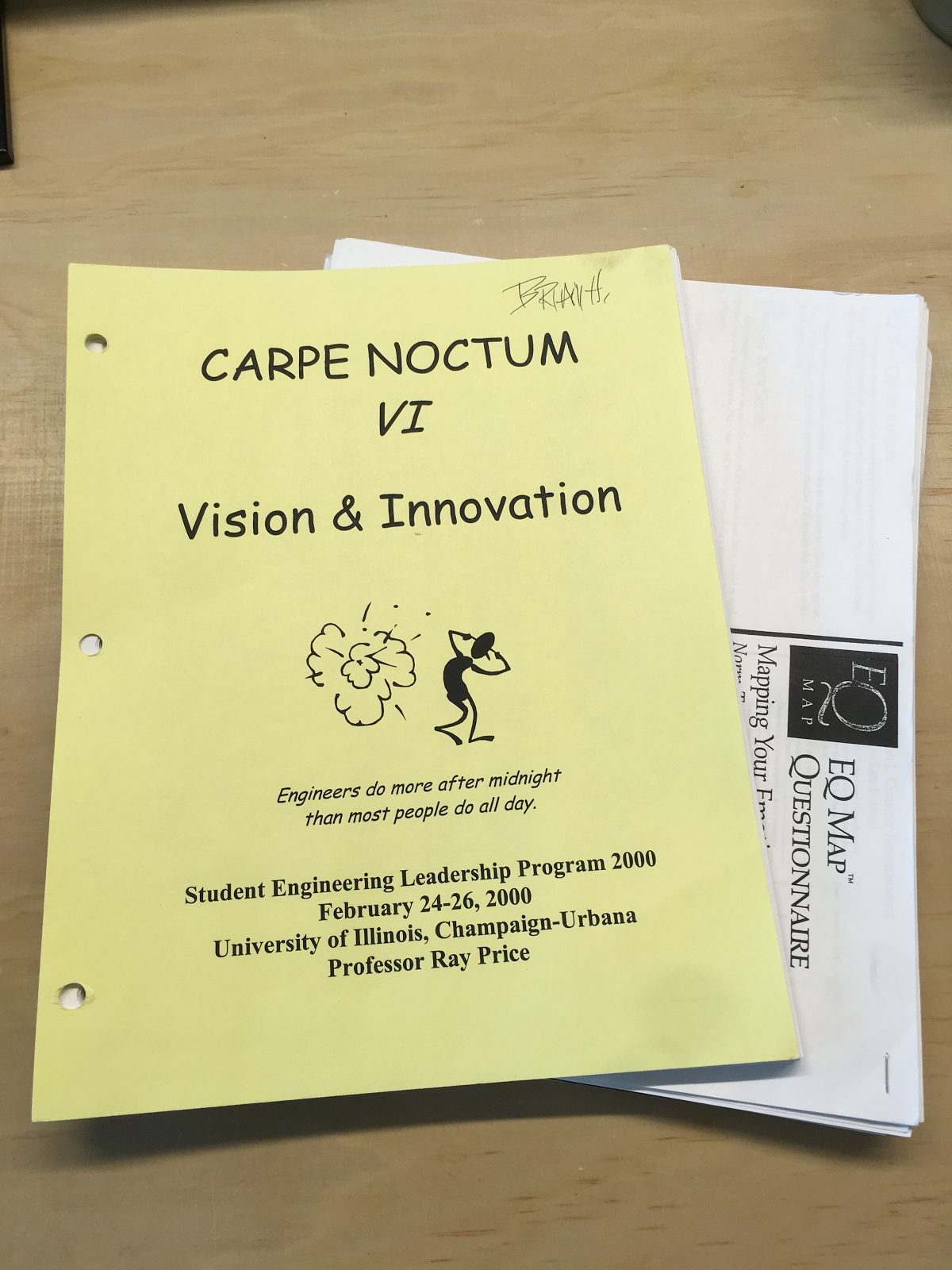 """""""Carpe Noctum: Engineers do more after midnight than most people do all day."""""""