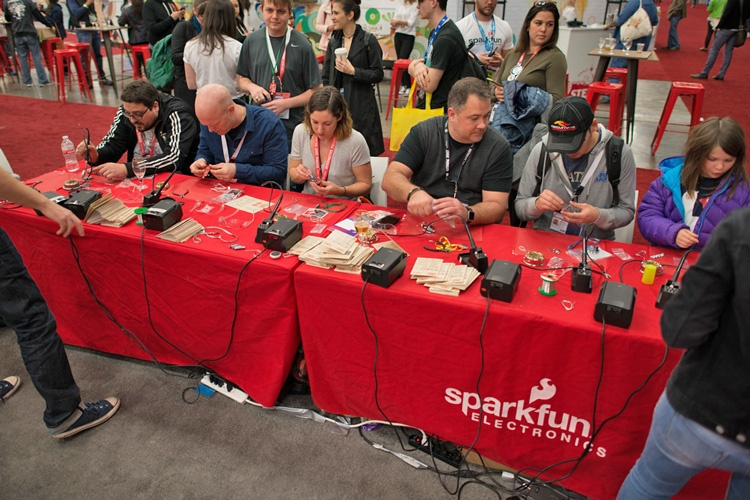 SparkFun at a conference