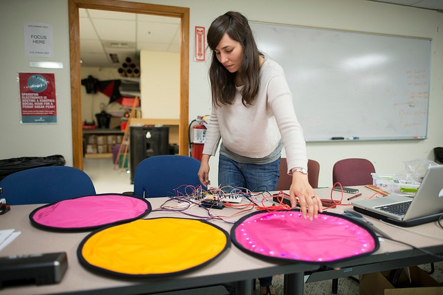 experimenting with electronics in the classroom