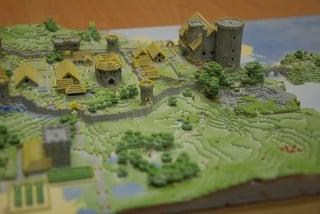 3d printed map