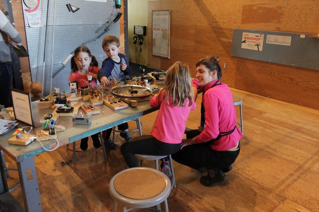 kids at makeshop