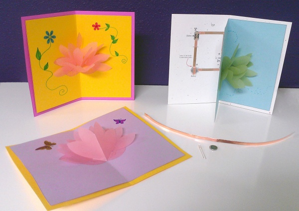Paper circuit cards