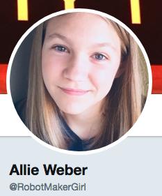 Robot Maker Girl Twitter Profile