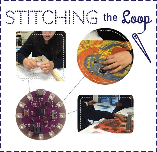 Stitching the Loop with e-textiles