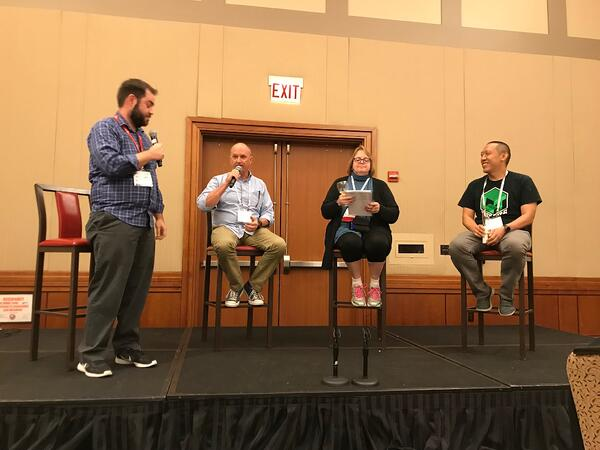 SparkFun education panel at ISTE 2018