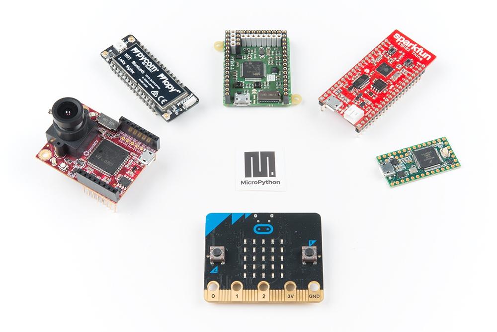 Boards that can run MicroPython